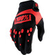 100% Airmatic Gloves black/red